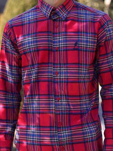 پیراهن مردانه اسپرت (کد۳۰۵) فارکلی