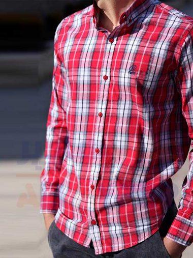 پیراهن مردانه اسپرت فارکلی (کد۳۰۳)